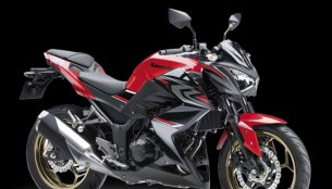 Kawasaki Z250 ABS updated with new colour in Indonesia