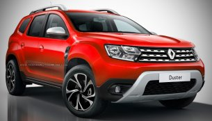 Second generation 2018 Renault Duster - Rendering