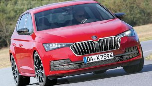 Second-gen 2019 Skoda Rapid rendered