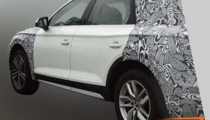 Long wheelbase Audi Q5 spotted in China