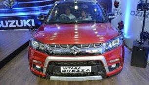 Customised Maruti Vitara Brezza showcased at Nepal Auto Show 2017