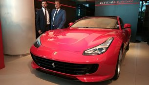 Ferrari GTC4Lusso launched in India - In 20 Live Images