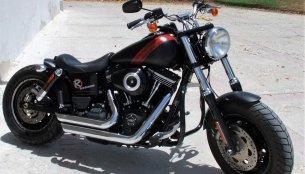 Harley Davidson Fat Bob 'Vakhtra' by Radical Custom