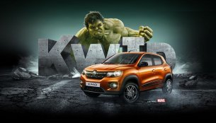 Renault Brazil ties up with Marvel's Incredible Hulk to promote the Kwid