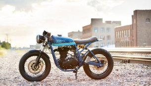 Royal Enfield Continental GT 'Grand Trunk Express' by Federal Moto
