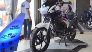 TVS Stryker 125 showcased at the Nepal Auto Show 2017
