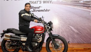 Triumph Street Scrambler launched in India at INR 8.10 lakhs