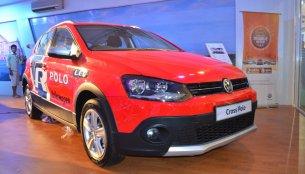 VW Cross Polo 1.6 showcased at Nepal Auto Show 2017