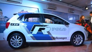VW Polo GT TSI 'R' edition showcased at Nepal Auto Show 2017