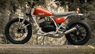 Customised Yamaha RD350 by Motoexotica India