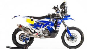 Yamaha WR450F Rally Replica launched