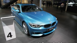 2017 BMW 4 Series Coupe (LCI) at the IAA 2017 - Live