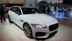 2017 Jaguar XF Sportbrake showcased at IAA 2017 - Live