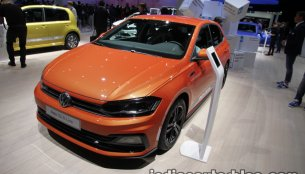 2017 VW Polo TGI R-Line showcased at IAA 2017 - Live