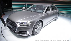 2018 Audi A8 showcased at the IAA 2017 - Live