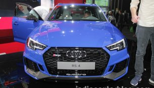 2018 Audi RS4 Avant showcased at the IAA 2017 - Live