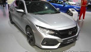 Tenth-gen 2018 Honda Civic diesel showcased at IAA 2017 - Live