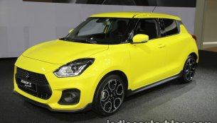 2018 Suzuki Swift Sport showcased at IAA 2017 - Live