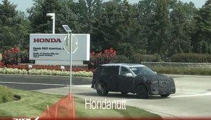 2019 Acura RDX spied outside the Honda R&D centre in Ohio