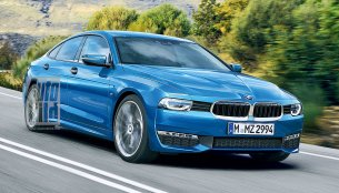 4-door BMW 2 Series GranCoupe - Rendering