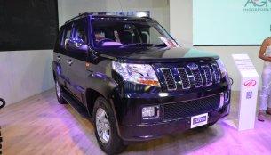 Accessorised Mahindra TUV300 showcased at Nepal Auto Show 2017