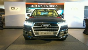 Audi Q7 Petrol launched in India at INR 67.76 lakhs