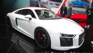 Audi R8 V10 RWS showcased at IAA 2017 - Live