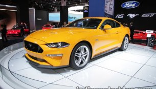 Euro-spec 2018 Ford Mustang GT showcased at IAA 2017 - Live