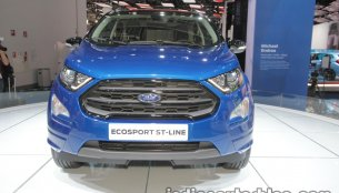 Ford EcoSport ST-Line showcased at IAA 2017 - Live