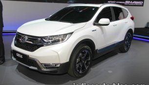 Honda CR-V Hybrid Prototype showcased at IAA 2017 - Live