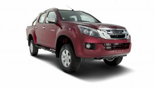 Ruby Red colour now available in the Isuzu D-Max V-Cross