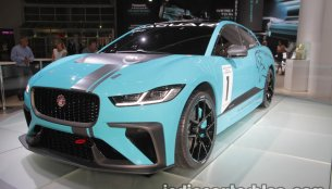 Jaguar i-Pace Electric Concept & Jaguar i-Pace eTrophy at the IAA 2017 - Live