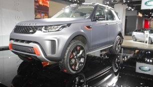 Land Rover Discovery SVX showcased at IAA 2017 - Live