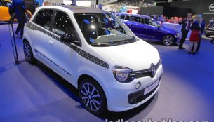 Renault Twingo La Parisienne showcased at IAA 2017 - Live