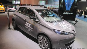 Renault ZOE showcased at IAA 2017 - Live
