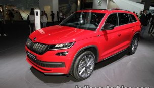Skoda Kodiaq Sportline showcased at IAA 2017 - Live