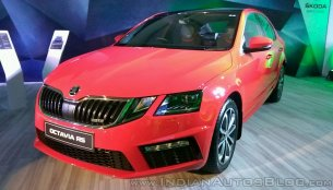 Skoda Octavia RS launched in India at INR 24.62 lakhs
