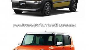 Suzuki Xbee concept vs. Suzuki Hustler - In Images