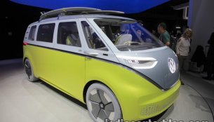 VW I.D Buzz concept showcased at the IAA 2017 - Live