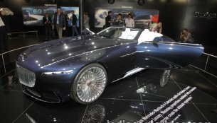 Vision Mercedes-Maybach 6 Cabriolet showcased at the IAA 2017 - Live