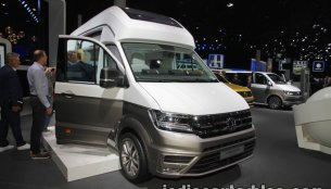 Volkswagen California XXL Concept showcased at IAA 2017 - Live