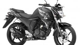 Yamaha FZ-S FI, Yamaha Saluto RX & Yamaha Ray ZR get Dark Night colour variant