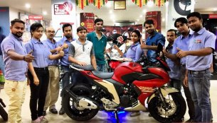 Yamaha Fazer 25 customer deliveries begin in India