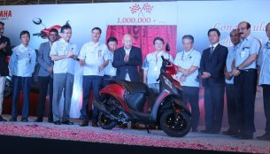 Yamaha's Chennai plant reaches 1 million unit production milestone