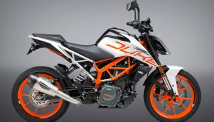 Yoshimura Alpha T slip-on exhaust for 2017 KTM 390 Duke launched