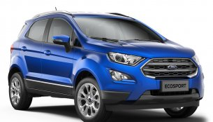 Ford EcoSport facelift launched in India at INR 7.31 lakhs
