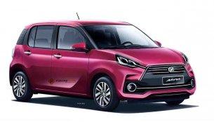 Third generation 2018 Perodua Myvi rendered