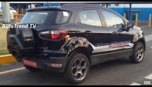 2018 Ford EcoSport demo vehicle spied inside out