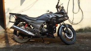 Hero Karizma R Touring mod by Sahyadri Moto