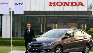 Honda City achieves 7 lakh cumulative sales in India